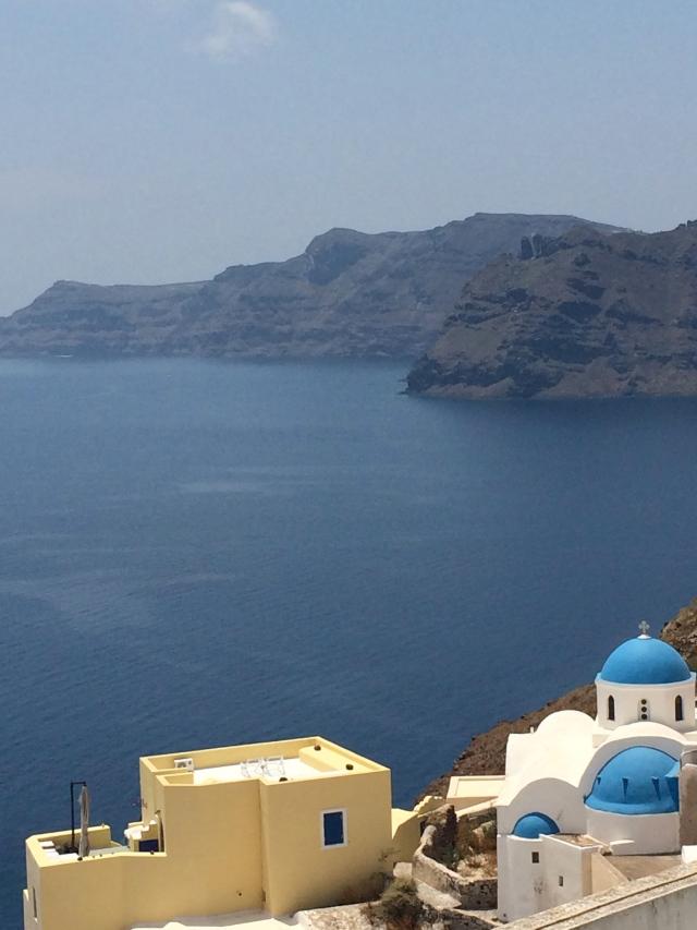 Santorini Cliff 18
