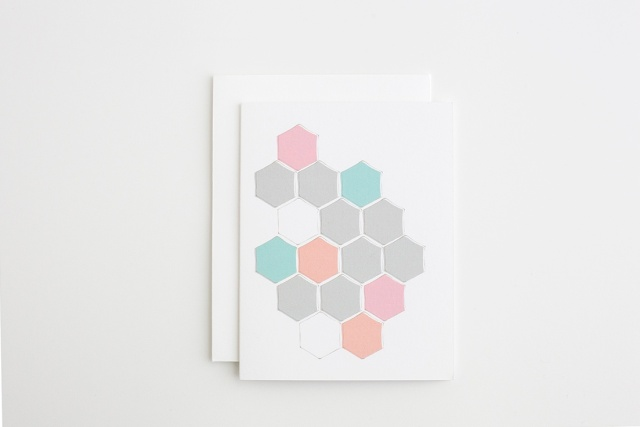 Hexagon cards