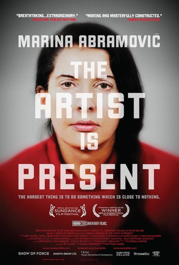 artist is present