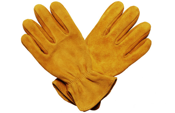 elkskin suede gloves