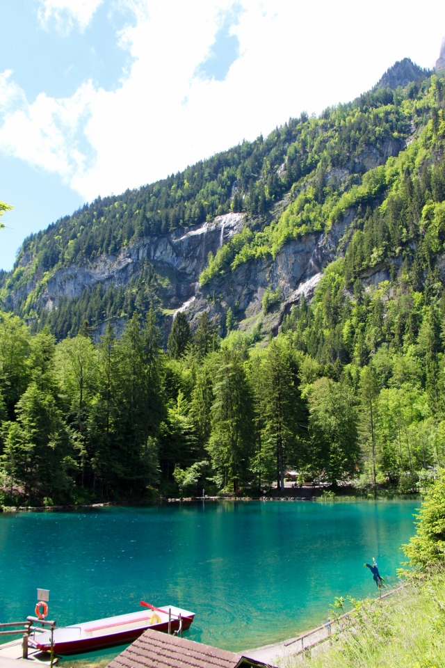 blausee schweiz day trip to winter